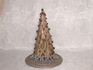 Мастерим ёлку из природных материалов. Ярмарка Мастеров - ручная работа, handmade.
