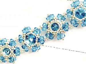 Создаем новогодний браслет из бисера и кристаллов Swarovski!. Ярмарка Мастеров - ручная работа, handmade.
