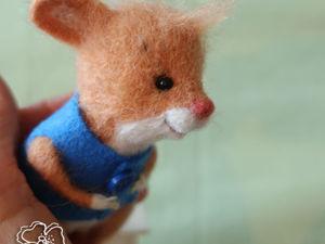 Персонаж серии книжек про мышонка Тима. Ярмарка Мастеров - ручная работа, handmade.