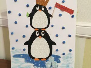 Создаем новогодние поделки из бумаги. Мастер-класс для детей. Ярмарка Мастеров - ручная работа, handmade.