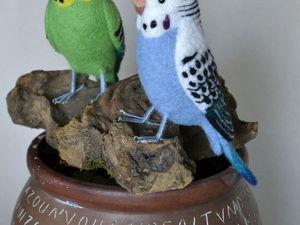 Делаем проволочные лапки для валяной птички. Ярмарка Мастеров - ручная работа, handmade.