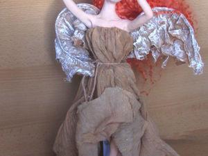 Мастер-класс по созданию крыльев ангела из ткани. Ярмарка Мастеров - ручная работа, handmade.