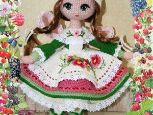 Кухонная фея- покровительница пирожков и булочек, куколка-амигуруми. Ярмарка Мастеров - ручная работа, handmade.