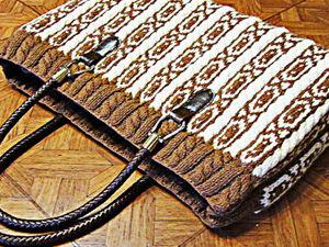 Как постирать вязаную сумку. Ярмарка Мастеров - ручная работа, handmade.