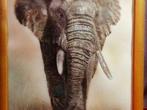 Слон. Ярмарка Мастеров - ручная работа, handmade.