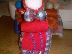 Куколка «На беременность» по мотивам русских народных кукол. Ярмарка Мастеров - ручная работа, handmade.