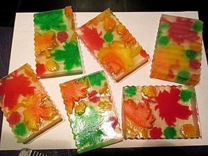 """Создание мыла """"Осень. Листопад"""". Ярмарка Мастеров - ручная работа, handmade."""