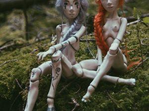 Хельга и Сигги. Ярмарка Мастеров - ручная работа, handmade.