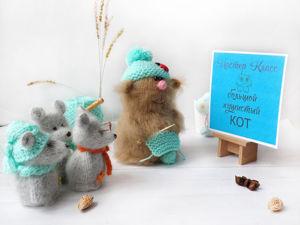 За кого не возьмусь, всё равно мышь получается ;). Ярмарка Мастеров - ручная работа, handmade.