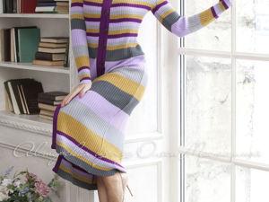 Аукцион на вязаное пальто! Старт 2500 руб.!. Ярмарка Мастеров - ручная работа, handmade.