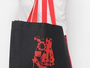 Новинка! Холщовые сумочки!. Ярмарка Мастеров - ручная работа, handmade.