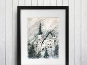 «Замок Нойшванштайн». Ярмарка Мастеров - ручная работа, handmade.