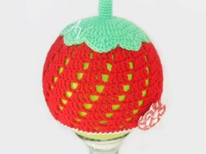 Шапочка-ягодка. Ярмарка Мастеров - ручная работа, handmade.