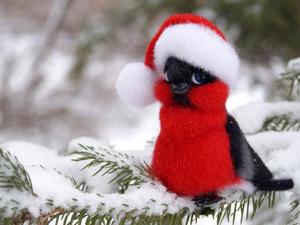 Снегири прилетели: 10 мастер-классов с любимыми зимними птичками. Ярмарка Мастеров - ручная работа, handmade.