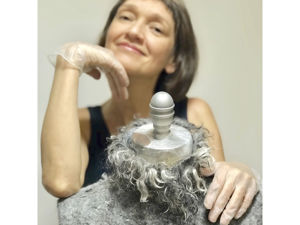 Валяный жакет из альпаки. История создания. Ярмарка Мастеров - ручная работа, handmade.