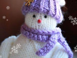 Вяжем милого снеговичка Фоку. Ярмарка Мастеров - ручная работа, handmade.