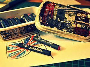Делаем коробку для карандашей. Ярмарка Мастеров - ручная работа, handmade.
