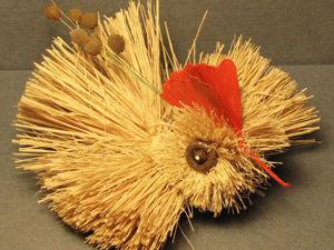 Мастерим райскую птичку из природных материалов. Ярмарка Мастеров - ручная работа, handmade.