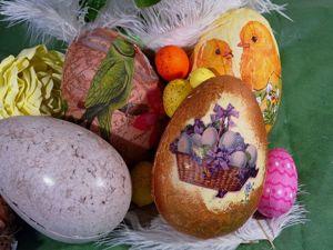 DIY БОЛЬШИЕ Пасхальные яйца с конфетами.Большие яйца из папье-маше. Ярмарка Мастеров - ручная работа, handmade.