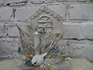 Создаем новогоднюю композицию своими руками. Ярмарка Мастеров - ручная работа, handmade.