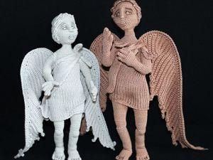 Вяжем крючком статуэтку «Ангел». Ярмарка Мастеров - ручная работа, handmade.