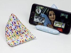 Подставка для телефона своими руками!. Ярмарка Мастеров - ручная работа, handmade.