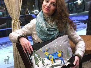 Зимние сказки в спящем лесу: оригинальная сумка. Ярмарка Мастеров - ручная работа, handmade.