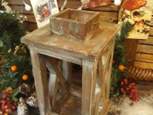 Мастерим деревянный подсвечник фонарь. Ярмарка Мастеров - ручная работа, handmade.