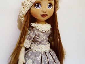 Шьем текстильную куклу с объемным лицом. Часть 1. Ярмарка Мастеров - ручная работа, handmade.