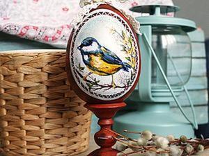 Декорирование и роспись пасхального яйца. Ярмарка Мастеров - ручная работа, handmade.