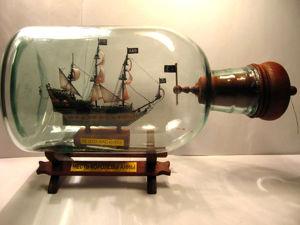 Изготовление корабля в бутылке «Месть королевы Анны». Часть 1. Ярмарка Мастеров - ручная работа, handmade.