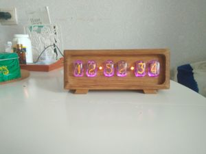 Видео  «Ламповые часы (дуб ин-12) nixie clock». Ярмарка Мастеров - ручная работа, handmade.