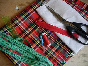 Шьем юбку-солнце из ткани «шотландка» за вечер. Ярмарка Мастеров - ручная работа, handmade.