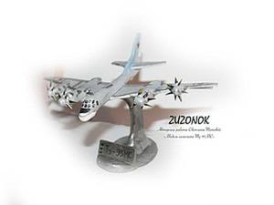Делаем модель самолета ТУ-95МС. Часть 2. Ярмарка Мастеров - ручная работа, handmade.