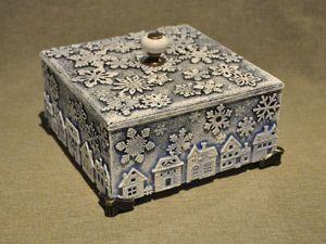 Декорируем деревянный короб для подарка. Ярмарка Мастеров - ручная работа, handmade.