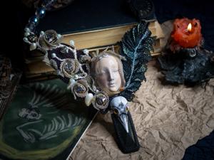 Новинка: Nevermore. Коллекционное колье. Ярмарка Мастеров - ручная работа, handmade.