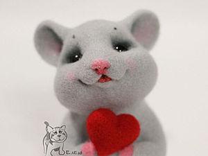 Felting a Cute Baby Mouse. Livemaster - handmade