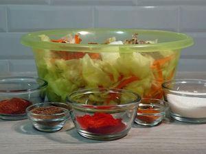 Готовим «Знаменитый корейский» салат из капусты. Ярмарка Мастеров - ручная работа, handmade.