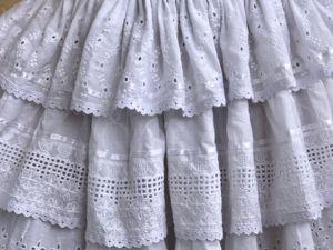Универсальная юбочка(нижняя или самостоятельная). Ярмарка Мастеров - ручная работа, handmade.