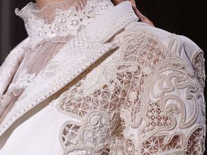 Сложный декор наряда Valentino Spring-Summer 2012. Ярмарка Мастеров - ручная работа, handmade.