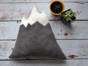 """Легко и просто шьем подушку """"Гора"""". Ярмарка Мастеров - ручная работа, handmade."""