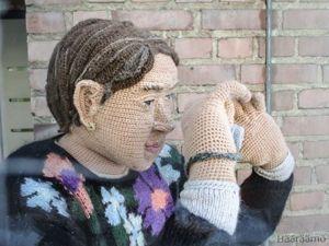 Вязаные люди мастерицы Лиизы Хиетанен. Ярмарка Мастеров - ручная работа, handmade.