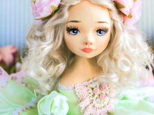 Принцесса Тесс авторская кукла, интерьерная  кукла подарок любимой. Ярмарка Мастеров - ручная работа, handmade.