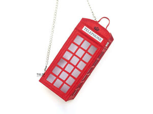 "How to Make a ""Telephone Box"" Felt Bag. Livemaster - handmade"