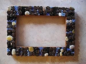 Рамочка для влюбленных в кофе. Ярмарка Мастеров - ручная работа, handmade.