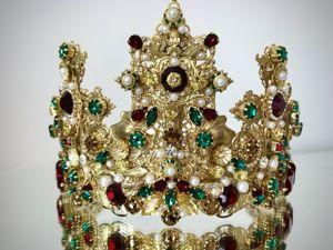 Корона «Великолепие». Ярмарка Мастеров - ручная работа, handmade.