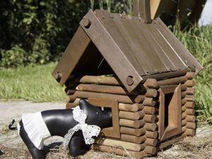 Делаем интерьерную игрушку Черная свинка из кожи. Ярмарка Мастеров - ручная работа, handmade.
