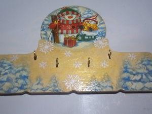Создаем ключницу «Зимние забавы». Ярмарка Мастеров - ручная работа, handmade.