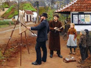 Живописные сцены сельской жизни в работах Hans Andersen Brendekilde. Ярмарка Мастеров - ручная работа, handmade.