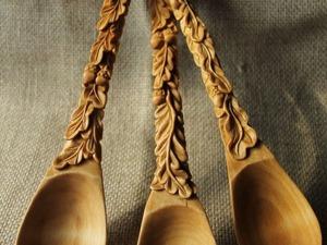 Вырезаем сами деревянную ложку. Ярмарка Мастеров - ручная работа, handmade.